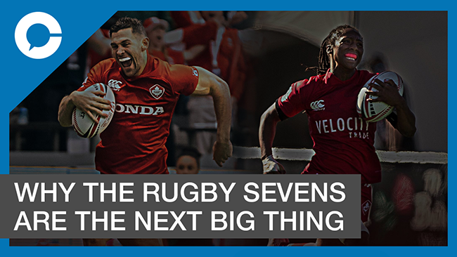 Stu sits down with Jamie Levchuk for a conversation about the rapidly rising global popularity of the rugby sevens.