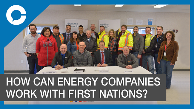 Stu sits down with Susannah Pierce of LNG Canada for a conversation about how First Nations can work together with energy resource companies.