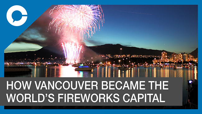 Stu sits down with Raymond Greenwood, the man who started Vancouver`s annual international fireworks competition.
