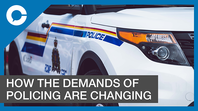 Stu sits down with The Honourable Wally Oppal for a conversation about the changing demands of the modern police officer.
