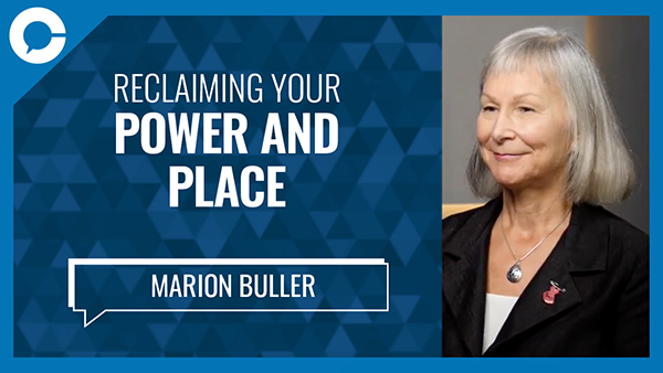 Stu sits down with Marion Buller for a conversation about reducing harm and violence afflicting indigenous women, girls and Two-Spirited people.