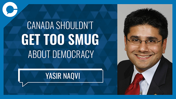 A conversation about the state of democracy in Canada during a time of uncertainty.