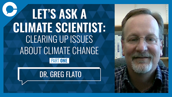 Stu sits down with climate scientist Greg Flato of Environment Canada to clear up some of the common questions surrounding climate change.