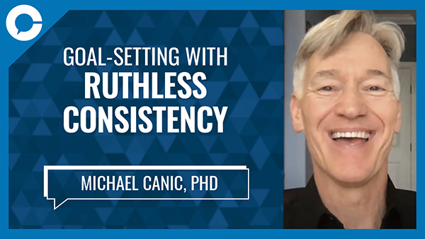 A conversation about how a shift in mindset can propel anyone to a path of consistency.